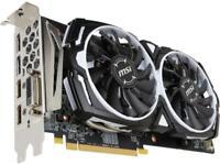 MSI Radeon RX 580 DirectX 12 RX 580 ARMOR 8G OC 8GB 256-Bit GDDR5 PCI Express x1