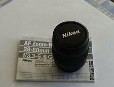 NIKON  AF Zoom-Nikkor 28-80 f/3,3-5,6G