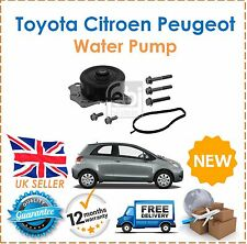 Para Toyota Aygo Yaris Citroen C1 Peugeot 107 Subaru Justy 1.0i Bomba De Agua Nuevo