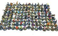 Heroclix Large Lot Of 131 DC Heroes/Villains Marvel Mini Figures