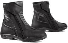Stivali Bassi Boots Moto impermeabili forma latino Touring Leather Pelle Tg 43