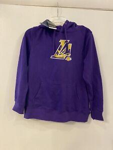 NBA LA Lakers Fanatics Women's Hoodie Sweatshirt NWT Size Medium