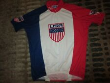 Usa Olympics Cycling Team Jersey Xxl 2Xl