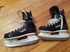 Bauer Impact 100 Hockey Ice Skates y13D YOUTH