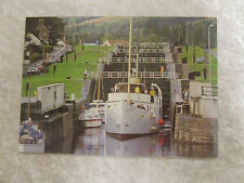 THE CALEDONIAN CANAL FORT AUGUSTUS SCOTLAND POST CARD WHITEHOLME OF DUNDEE