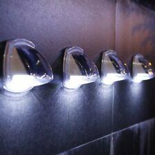 Outdoor Solar Deck Lights Stairs Step Fence Patio Pathway Garden Lamp Waterproof
