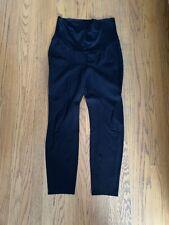 Liverpool Maternity Black Ponte Knit Pants (Legging) Full Panel Size 10/30 EUC