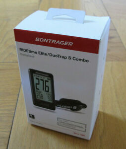 Bontrager RIDEtime Elite Cycling Computer with DuoTrap S Combo 553894