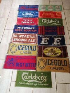 vintage beer towels