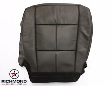 2013 Lincoln Navigator -Driver Side Bottom Replacement Leather Seat Cover Black