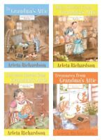 NEW Grandma's Attic Series Set of 4 Book by Arleta Richardson Lot Grandmas