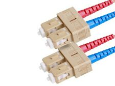 Fiber Optic Cable, SC/SC, OM1, Multi Mode, Duplex - 30 meter (62.5/125 Type)