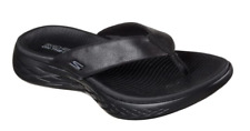 Skechers On-The-Go 600 Polished Ladies Sporty Casual Toe Post Flip Flop Sandals