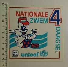 Aufkleber/Sticker: nationale zwem 4 daagse UNICEF (090716171)