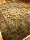 Vintage Distressed Handmade In India Area Rug, Floral Design, Contemporary,8x11