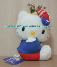 Vintage 2001 Japan Only Japan Yahoo Limited Hello Kitty w/ Gold Crown Plush Lrg