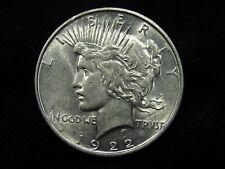 1922-D Silver Peace Dollar CHOICE AU+