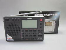 TECSUN PL-380 FM Stereo/SW/MW/LW With ETM Function DSP World Band Radio (Black)