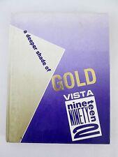 1992 Yearbook Sabino High School Tucson Arizona 'Vista' Vol 20 Memorabilia