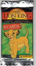 Disney Lion King Trading Cards Unopened Pack Panini Movie Cards