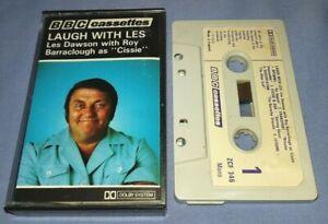 LES DAWSON LAUGH WITH LES PAPER LABELS cassette tape album A1100