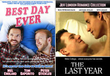 Jeff London 2 Movie Set (DVD) Best Day Ever, The Last Year, Gay, LGBT, Romance