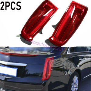 1 Pair Left+ Right LED Tail Brake Lights Lamps Set for Cadillac XTS 2013-2017