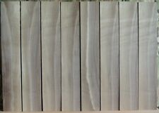"""8 Thin Walnut Boards-1/8"""" thick-luthier/wood/crafts /veneer/inlay/scrollsaw"""