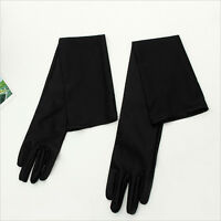 Long Satin Gloves Opera Wedding Bridal Evening Party Costume Colorful Gloves Ci