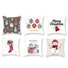 Nordic style Christmas Plaid Print Cushion Cover Pillow Covers Pillowcase LP