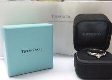 Tiffany & Co Platino Etoile Anillo Solitario Diamante de Compromiso 0.44CT