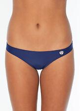 Body Glove Midnight Smoothies Solid Bikini Bottom Swim Wear Navy Size S NWT