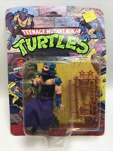 MOC Unpunched Unopened 1990 Shredder Teenage Mutant Ninja Turtles TMNT Figure