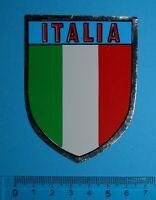 ADESIVO VINTAGE STICKER AUTOCOLLANT ANNI'80 ITALIA 8x6 cm