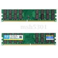 XIEDE 4GB DDR2 PC2-6400  240-Pin DIMM SDRAM Desktop Memory Ram For AMD System