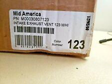 Mid America Cutting Edge Intakeexhaust Vent 082 Linen 0030807123 75 X 75