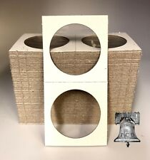 50 MORGAN 2x2 Silver Dollar Mylar Cardboard Coin Holder Flip BCW Storage Case