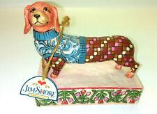 "2005 Jim Shore Longfellow Dachshund Dog Figurine #V4004851 Heartwood Creek 4.5"""