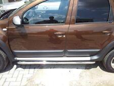 4 x original Dacia Duster Seitenplanken Schutzleisten für Tür Türen schwarz neu