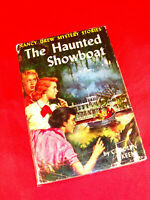 NANCY DREW #35 THE HAUNTED SHOWBOAT By Carolyn Keene TWEED W/DJ