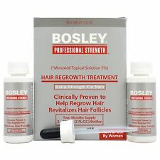 Bosley Professional Strength Hair Regrowth Treatment for Men - NEW in BOX