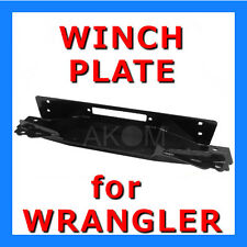 Winch Mounting Plate for JEEP WRANGLER TJ High Quality Perfectly fits!