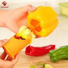 2PCS Pepper Cutter Corer Slicer Tool Fruit Peeler Kitchen Healthy Kitchen Tool
