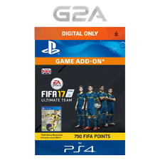 FIFA 17 Ultimate Team - 750 FUT Points [PS4] Playstation Network PSN Code UK