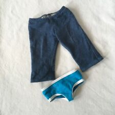 American Girl BITTY TWINS BOY JEANS and UNDIES from Rainbow Plaid Meet Outfit
