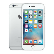 Apple iPhone 6 - 128GB - Silver (Factory Unlocked) LTE iOS (GSM) Smartphone A+