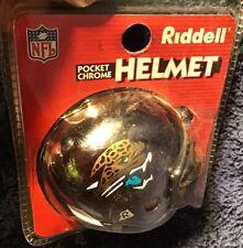 1 Jacksonville Jaguars NFL Riddell Pocket Chrome Helmet Souvenir