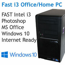 Fast i3 PC - windows 10 - Photoshop - Internet ready - Can upgrade to i7