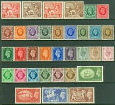 EDW1949SELL : GREAT BRITAIN 1924-51 Collection of 5 Better Cplt set MOG Cat $248