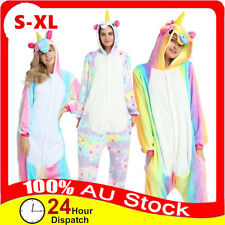 Unicorn Cute Cartoon Onesie2 Sleepwear Animal Costume Cosplay Pyjamas Slippers